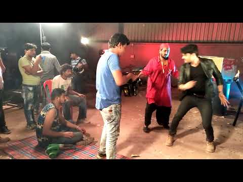 Gangster dulhania fight scene Gaurav jha Sanjay pandey Making video sahil ansari