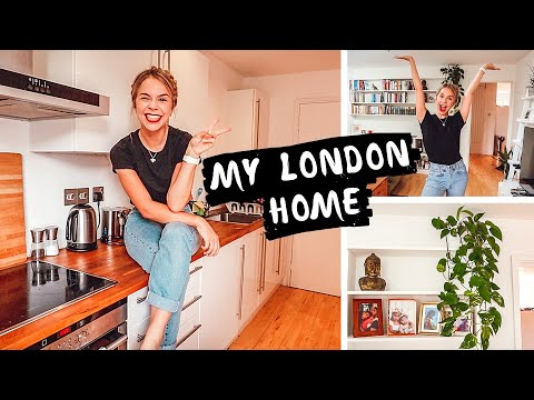 My Central London Apartment Tour - London Flat Tour