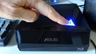 Asus 12x Blu-ray USB External Burner - BW-12D1S-U Lite / review - unboxing