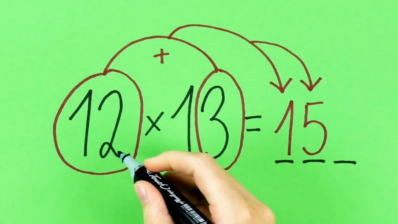 12 ingeniosos trucos de matemáticas   Cálculo rápido y sin calculadora para resolver operaciones