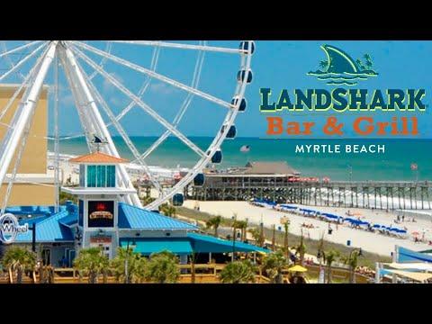 Landshark Bar & Grill Oceanfront Restaurant | Myrtle Beach, SC