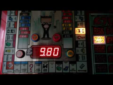 Monopoly Boom and Bust Fruit Machine Features