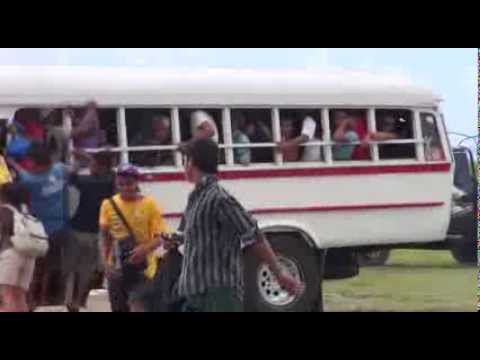 Riding the Bus Samoan Style
