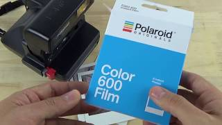 Polaroid Originals 600 Color Film Review
