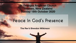 Matthew 22:15 22 with The Rev'd Brendon Wilkinson