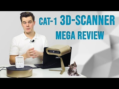 BlackBox CAT-1 3D-Scanner Review - Unboxing And Everything In Between