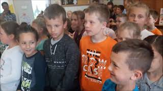 Skype with Greek school in June 2018