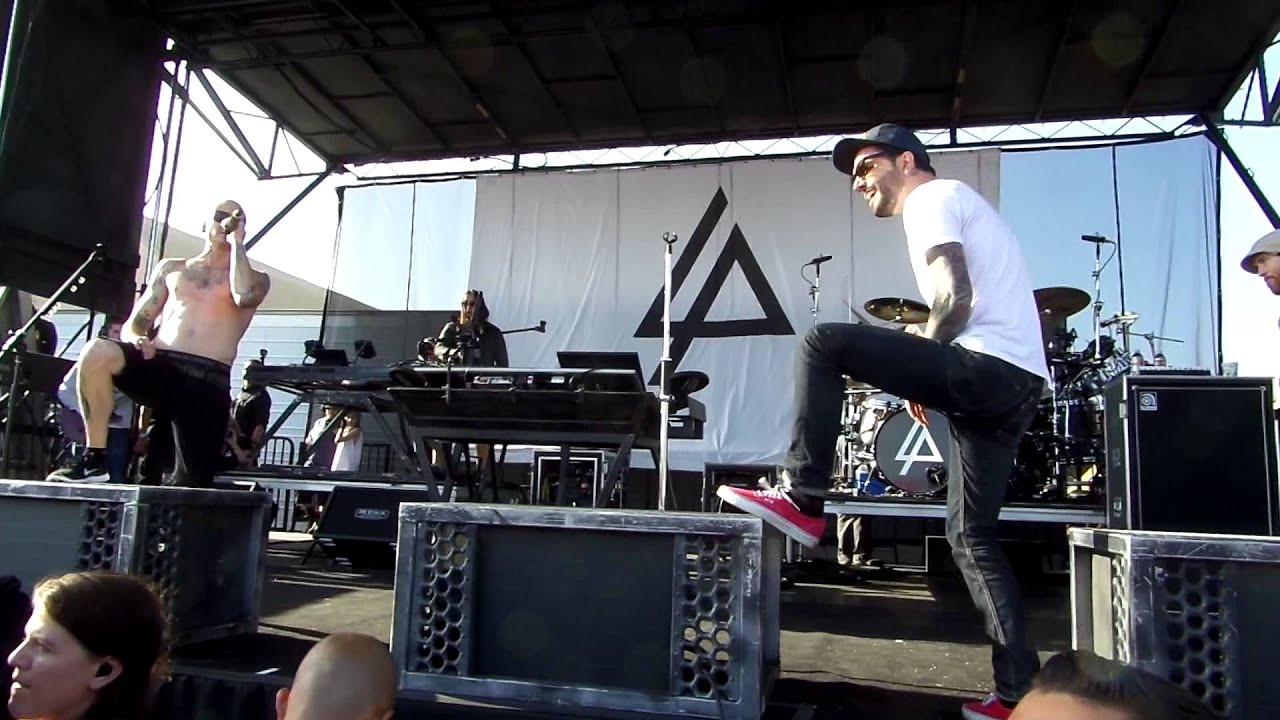 "Linkin Park and Jeremy of A Day To Remember ""A Place For ... A Day To Remember Live 2013"
