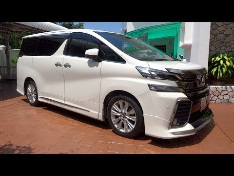 2015 Toyota Vellfire 2.5 ZA Start-Up And Full Vehicle Tour