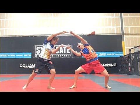 UFC fighter Roxanne Modafferi & Serena DeJesus  Fusion