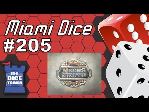 Miami Dice #205: Mechs vs. Minions (League of Legends Board Game)
