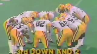 Green Bay Packers vs New York Giants 1982 MNF Week 2