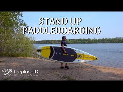 Standup Paddleboarding - Body Glove Inflatable SUP | The Planet D