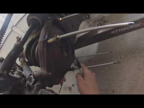Jaguar XJ6 IFS DIY Coil Spring removal