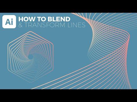Blend Tool Illustrator Tutorial