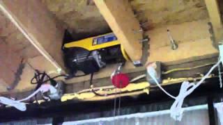 Rons Projects - Horizontal Bifold Garage Door