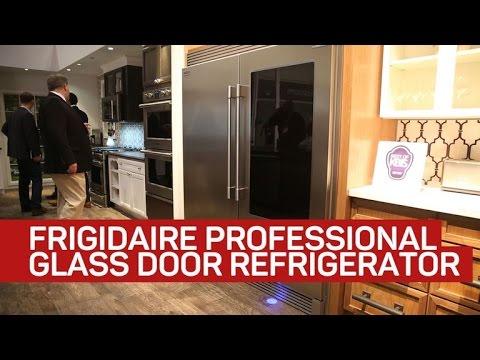 Frigidaire Fridge Provides A Peek Inside As You Step Close Youtube
