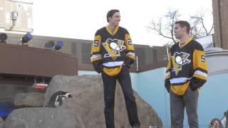 Behind the Scenes of WHIRL's 2015 Photo Shoot with the Pittsburgh Penguins