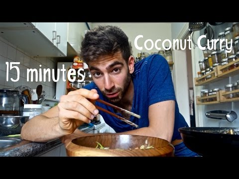 The 15 Minute Dinner Series Veggie Coconut Curry