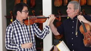 The Violin in 5ths I A lesson with Professor Rodney Friend