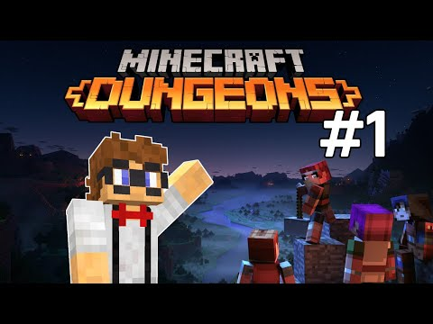 Minecraft Dungeons! Closed Beta Play Through #1