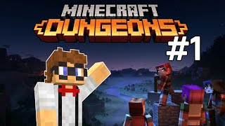 Minecraft Dungeons! Closed Beta Highlights  Part 1 Of 2