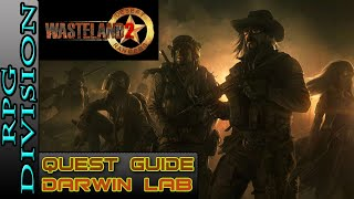 Wasteland 2 - Darwin Lab Walkthrough (Lab Entrance, Cure For Cancer, Night Terror)