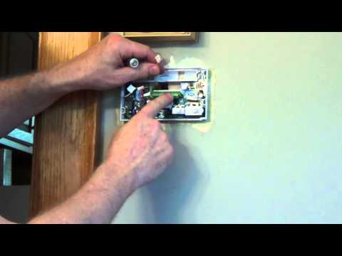 emerson thermostat hookup