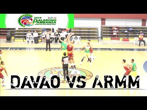 Palarong Pambansa 2019. Mens Basketball Elimination Round l Davao City vs BARMM