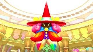 Kirby: Triple Deluxe 3DS - Lv2 Lollipop Land Paintra Boss Battle [HD]