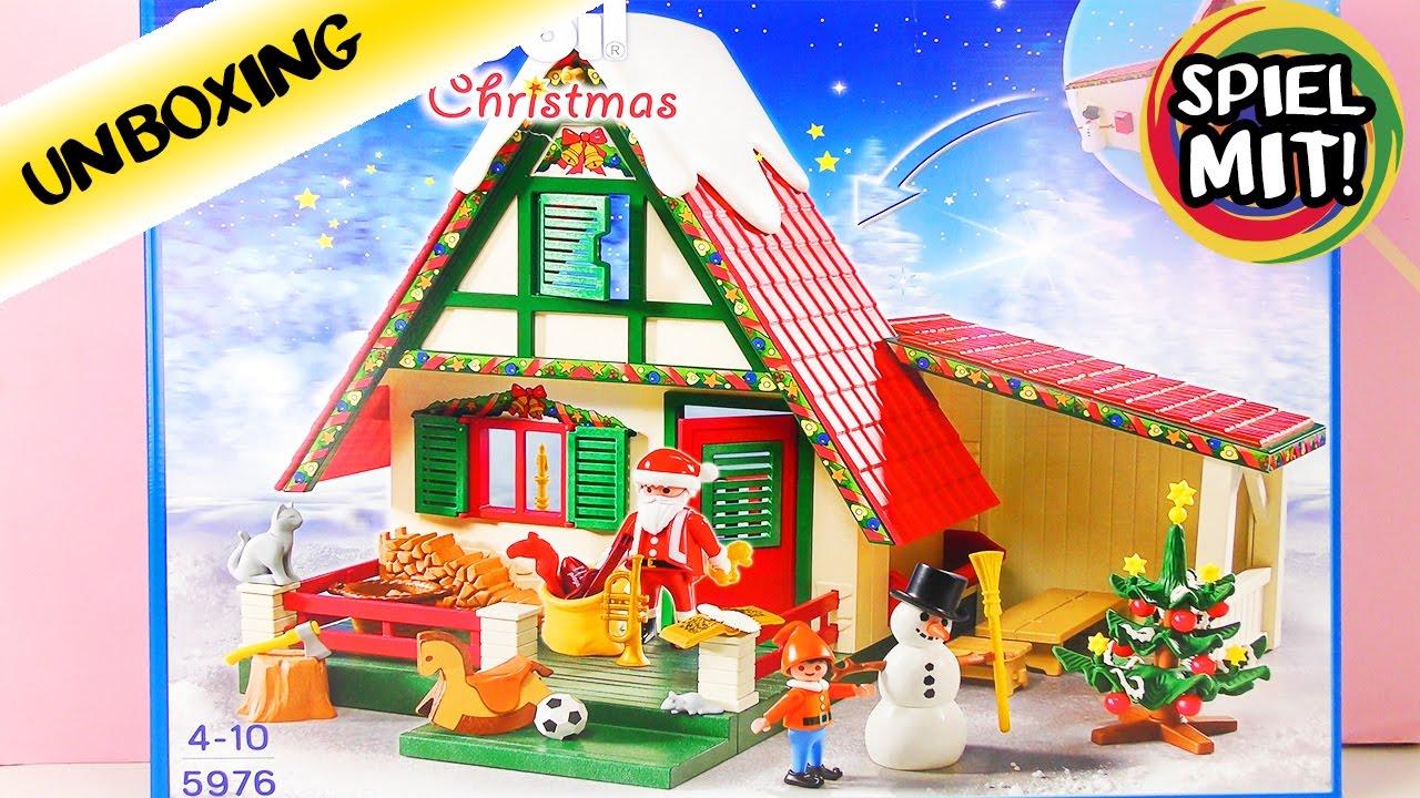 zuhause beim weihnachtsmann playmobil christmas 5967