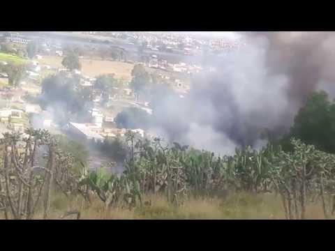 Momento de la explosion
