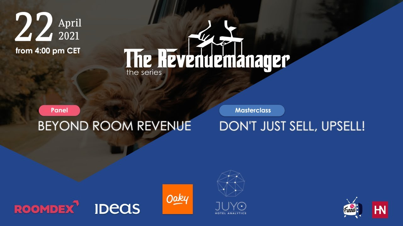 The Revenuemanager episode #2 - Beyond Room Revenue (FULL EPISODE)