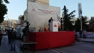 Ο ΓΓ του ΚΚΕ στην Κοζάνη
