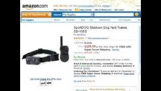Sportdog Stubborn Dog Yard Trainer Sd 105s Review