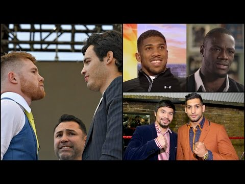What's Hot: CANELO/CHAVEZ JR ALL IN BET - JOSHUA ON WILDER'S OPPONENTS - PACQUIAO/KHAN POSSIBLE