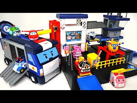 Thumbnail: Robocar Poli and Super Wings have a NEW mobile and rescue headquarters! - DuDuPopTOY