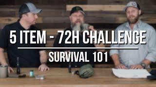 5 Item - 72h Challenge