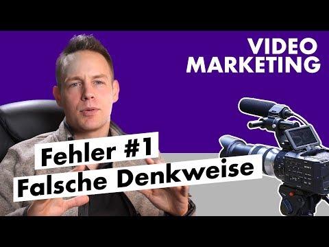 Video-Marketing Fehler - Die falsche Denkweise