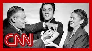 Biden's team following Elvis Presley's footsteps on vaccine