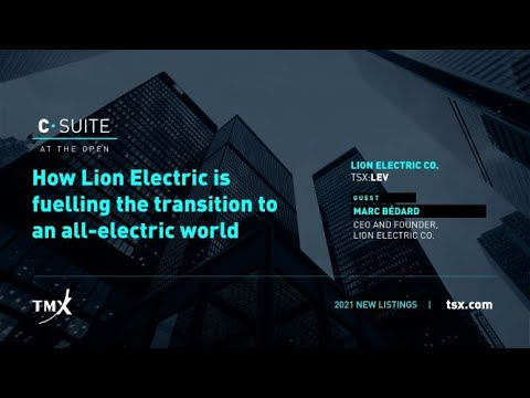 Toronto Stock Exchange, Lion Electric Co., C-Suite at The Open