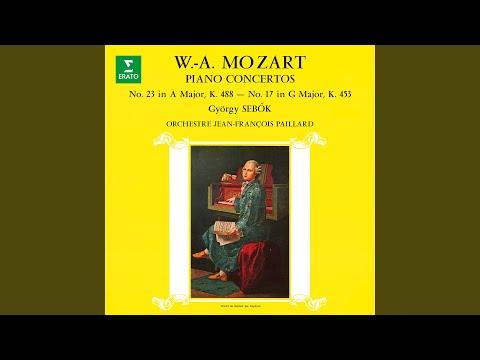 Piano Concerto No. 23 in A Major, K. 488: I. Allegro