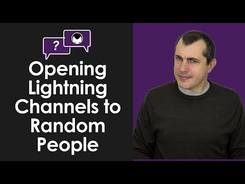 Lightning Q&A: Is it Safe to Open Lightning Network Channels with People You Don't Know?