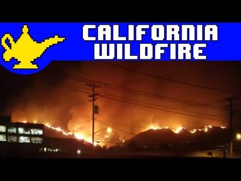 California Fire Wildfire