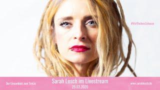 Sarah Lesch - Konzert 29.03.2020