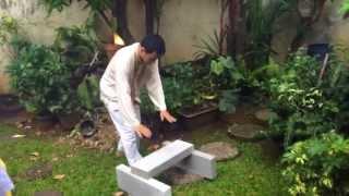 Mecahin Batu (Karate Funakoshi)