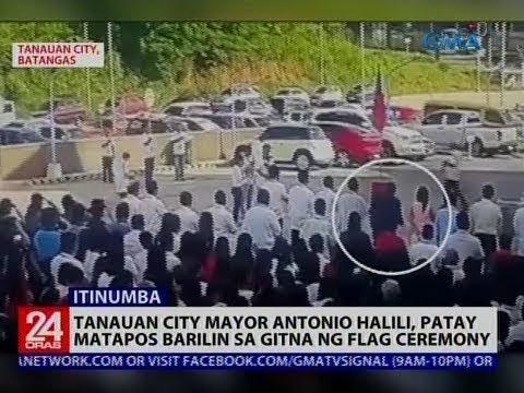 Download Tanauan City Mayor Antonio Halili, patay matapos barilin sa gitna ng flag ceremony