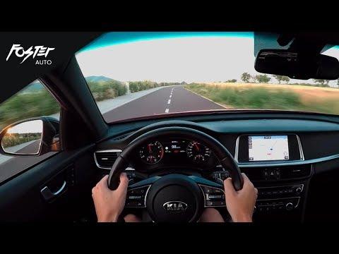 POV Drive: Kia Optima SW GT-Line 1.6 T-GDI | Auto Foster