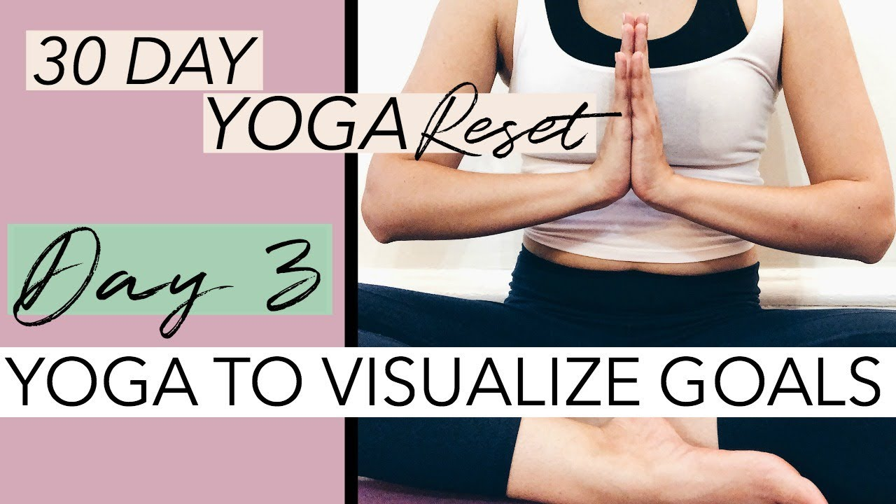 25 Min Yin Yoga to Visualize Goals | 30 Day Yoga Reset Challenge |  ChriskaYoga