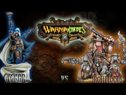 Mk2 Warmachine & Hordes - Cygnar (E-Haley) vs, Trollbloods (E-Grim) - 50pt Battle Report